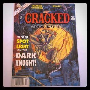 Cracked magazine goes batty